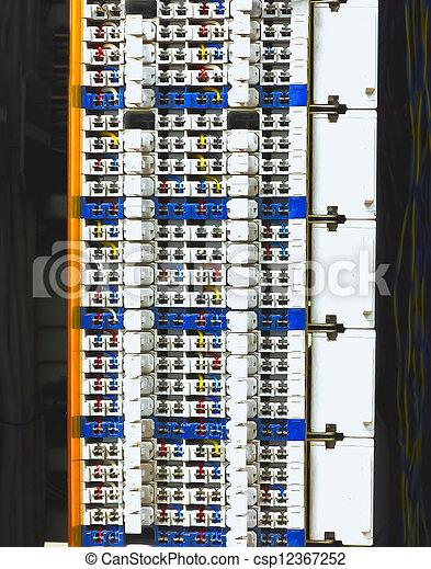 Communication control circuit panel