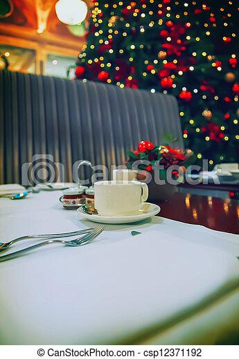 winter restaurant