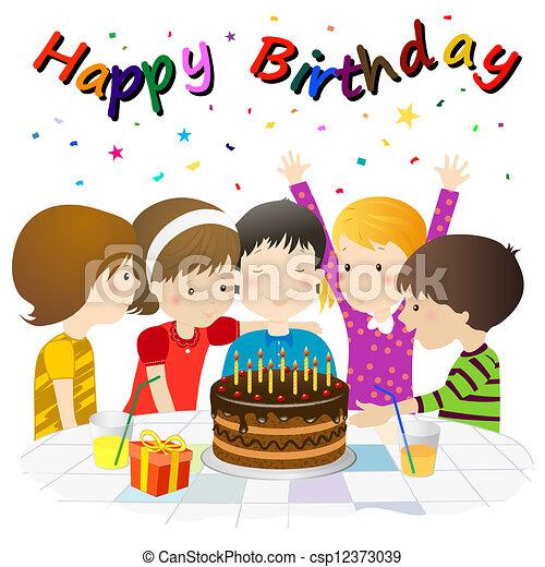 birthday party - csp12373039