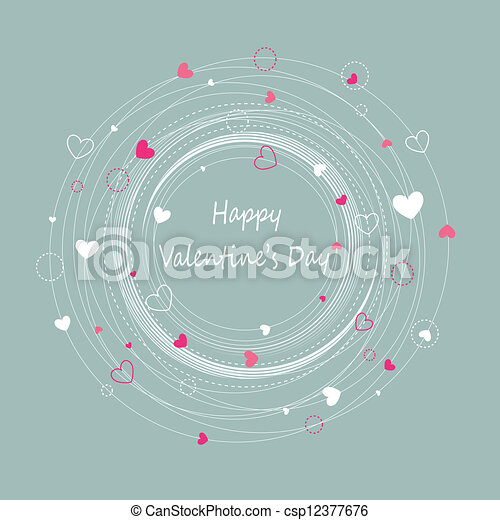 Happy valentine's day - csp12377676