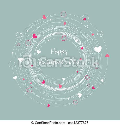 Happy valentine's day - csp12377676