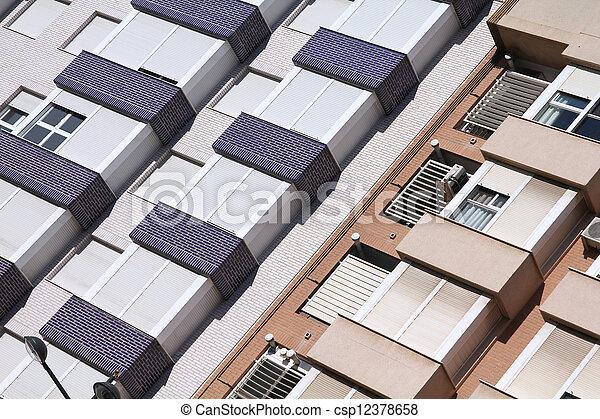 Residential architecture - csp12378658