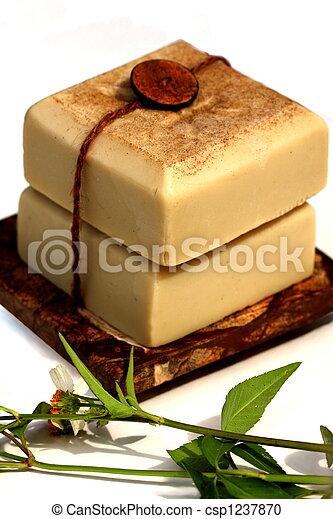 SKINCARE, NATURAL HANDMADE SOAPS - csp1237870