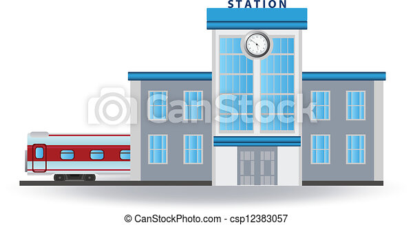 Clip Art Train Station Clipart railway station clip art vector and illustration 3205 for you design