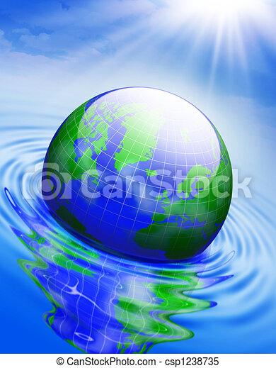 Global warming - csp1238735