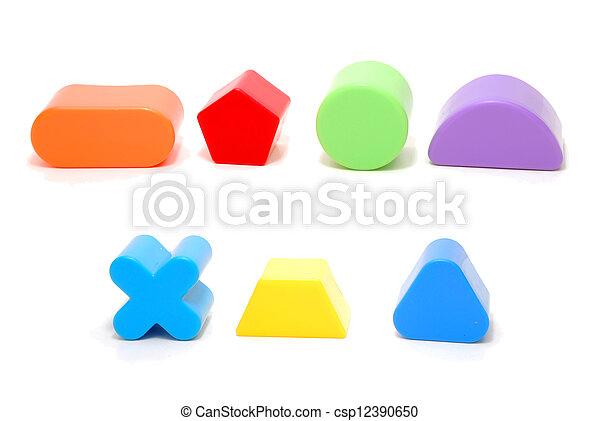 形狀,  id276, 玩具 - csp12390650