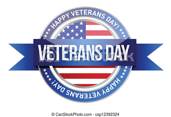 Veterans Day Logo Veterans Day us Seal And