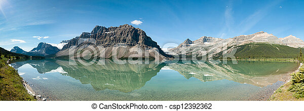 Bow Lake Panorama - csp12392362