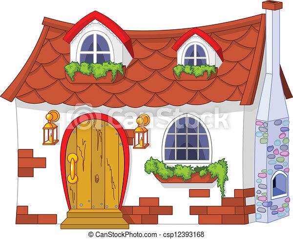 Cottage house clip art