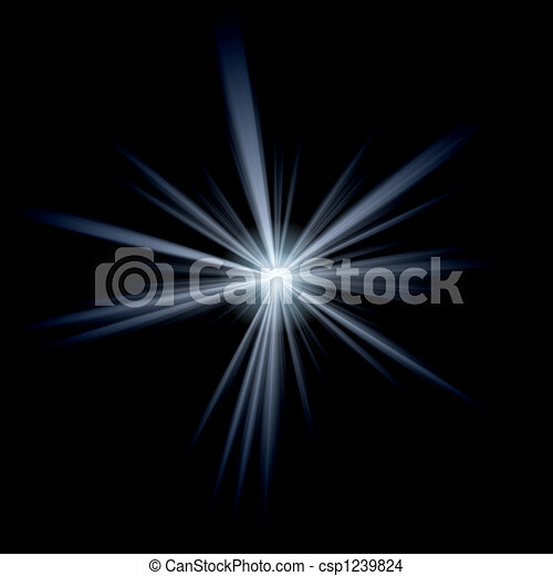 Abstract Lens Flare Burst - csp1239824