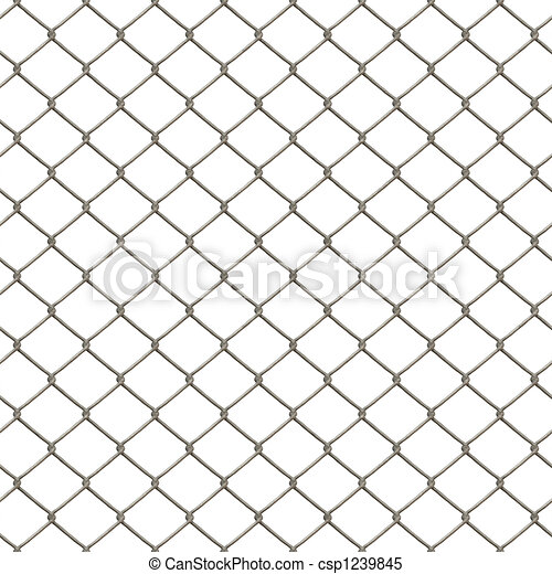 Chain Link Fence - csp1239845