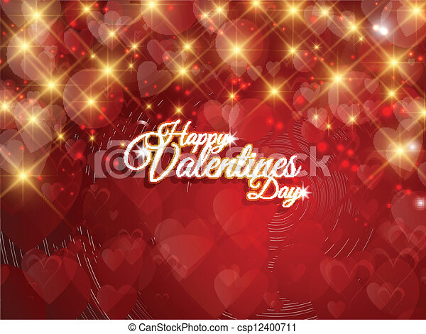 Valentines Day background - csp12400711
