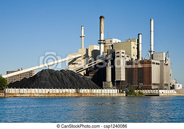 Electrical Power Plant - csp1240086