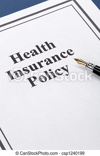Health Insurance - csp1240199