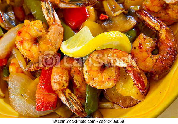 Mexican Restaurant Food - csp12409859