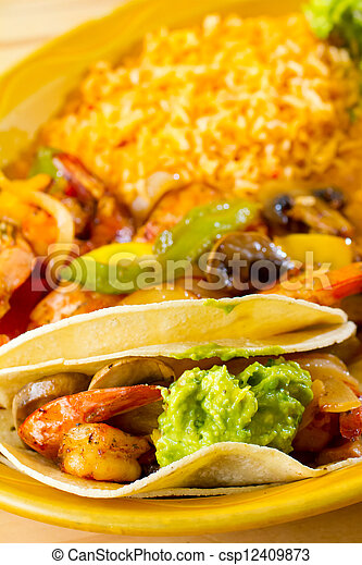 Mexican Restaurant Food - csp12409873