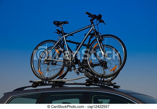 Bike transportation - csp12422557