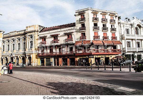 Cartagena, Indias, Colômbia - csp12424193