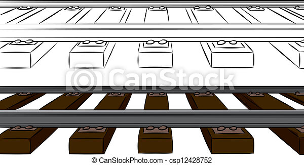 Railroad Illustrations and Clipart. 9,895 Railroad royalty free ...