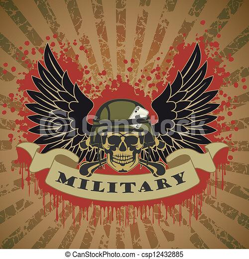 Military symbol - csp12432885