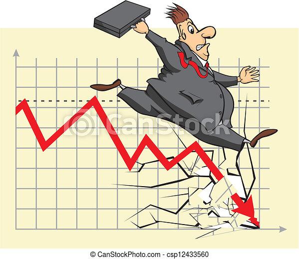 clip art vector of unhappy stock market investor stock stock market clip art microsoft stock market crash clipart