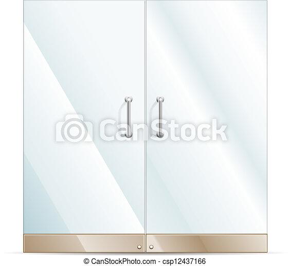 Glass Doors Clipart clip art vector of glass door - vector transparent glass door