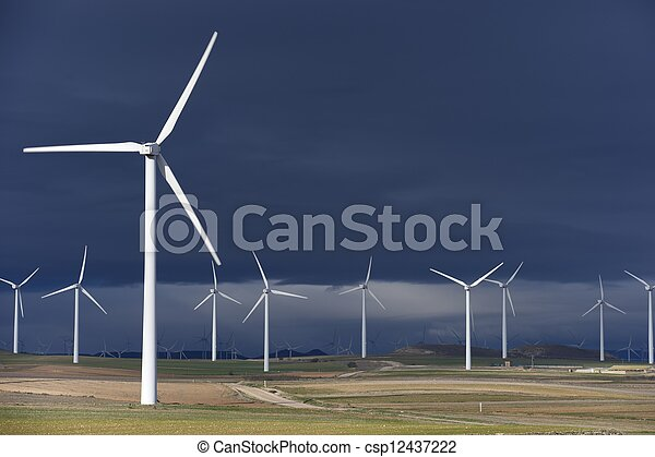 wind energy - csp12437222