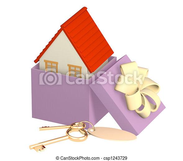 Mortgage - csp1243729