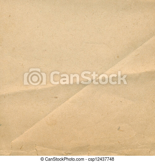 Grunge ancient used paper in scrapbooking style - csp12437748