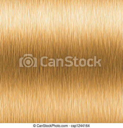 alto, cepillado, contraste, oro - csp1244164