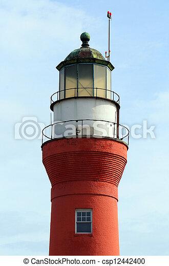 Historic Mayport Florida lighthouse - csp12442400
