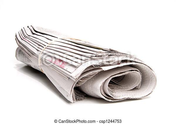 Newspaper - csp1244753