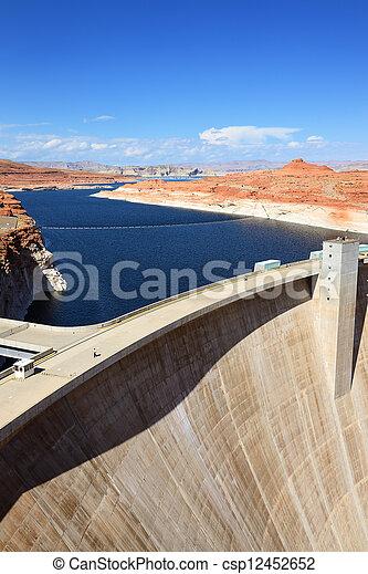 Powell lake - csp12452652