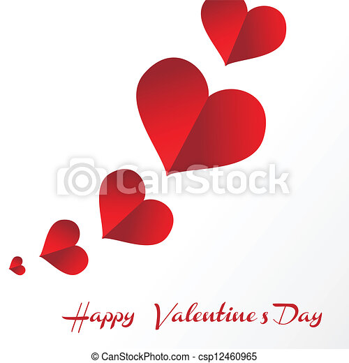 Happy valentines day - csp12460965