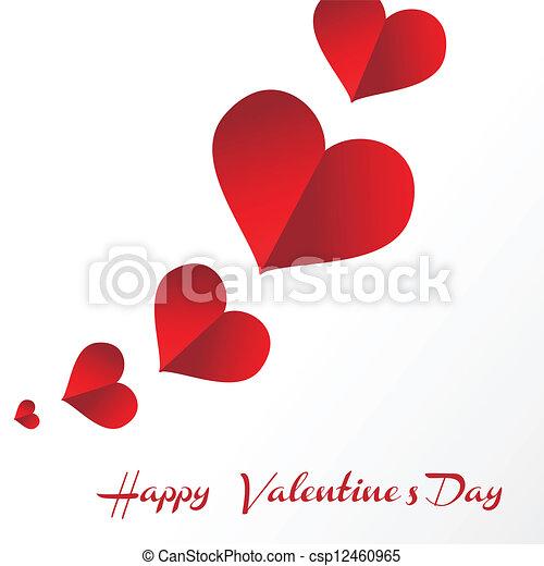 Happy valentines day - csp12460965