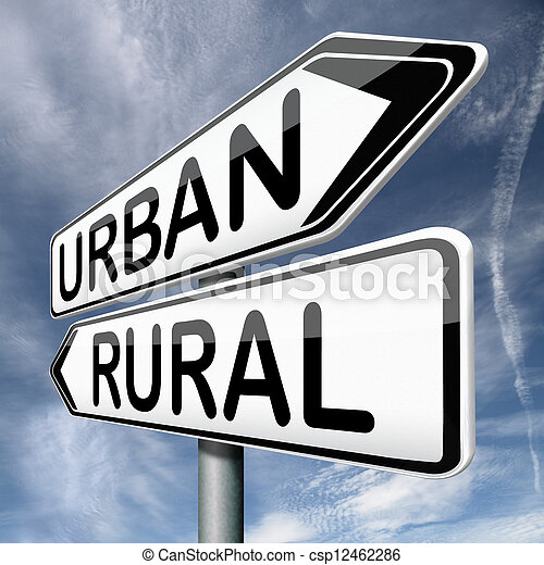 urban or rural - csp12462286