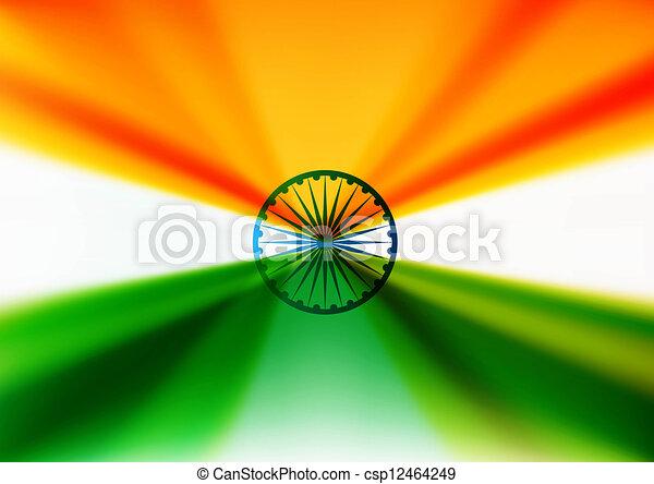 indian flag stylish design vector - csp12464249