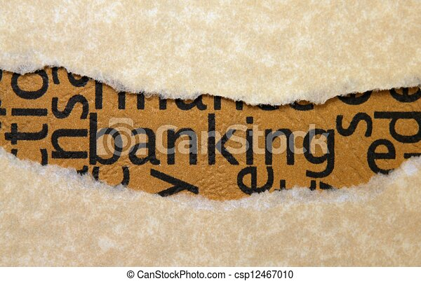 Banking concept - csp12467010