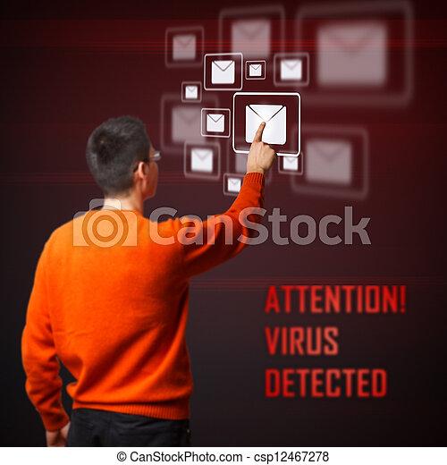 Virus detected - csp12467278