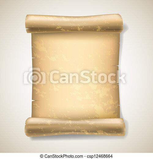 Ancient Scrolls Drawing Realistic Ancient Scrolls