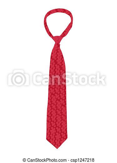 neck tie - csp1247218