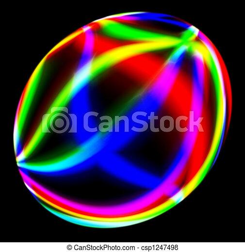 Spherical electric discharge - csp1247498