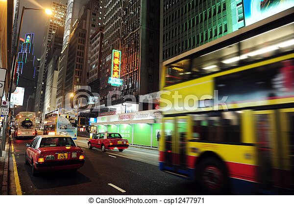 Public Transportation in Hong Kong, China - csp12477971