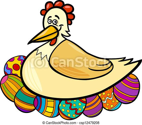 huevos en caricaturas: