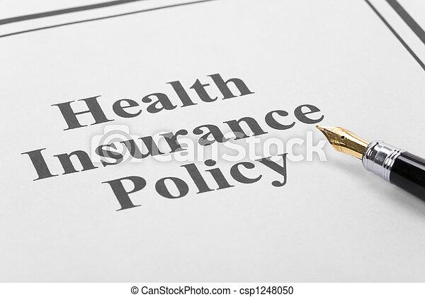 Health Insurance - csp1248050