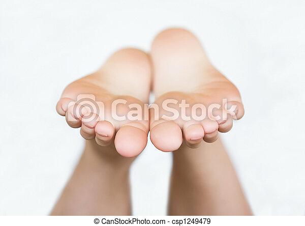 Bare Feet - csp1249479