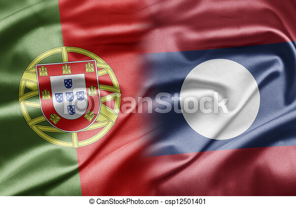 Portugal and Laos - csp12501401