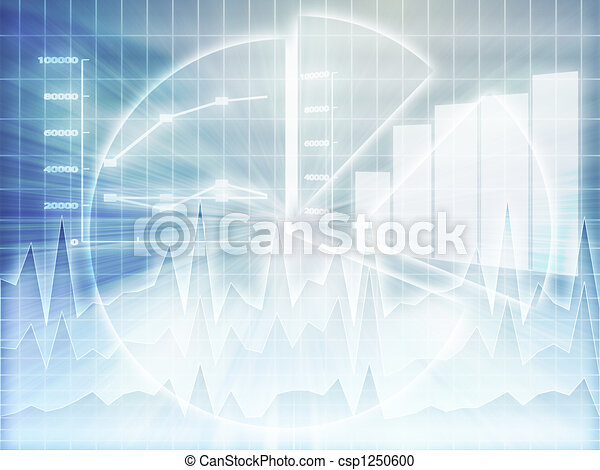 Spreadsheet business charts - csp1250600