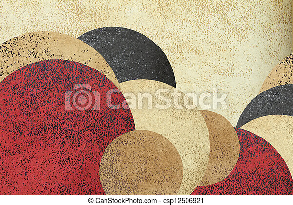 Abstract circle design background