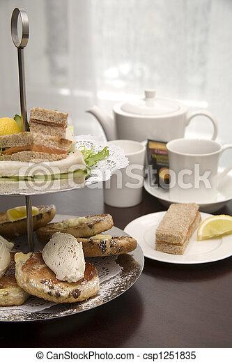 Afternoon tea. - csp1251835